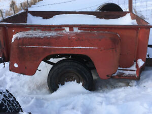 International Harvester IH step side fender