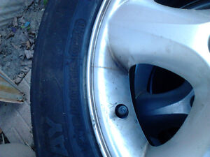 16 in tires and rims Windsor Region Ontario image 3