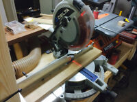 """Delta 12"""" Double Compound Miter Saw + Extensions"""