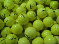 Srixon Mixed Model Yellow Golf Balls x 50. Pearl / A Grade Condition