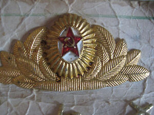 RUSSIAN HAT MILLITARY PIN AND UNIFORM PINS  $10.00 Cambridge Kitchener Area image 2