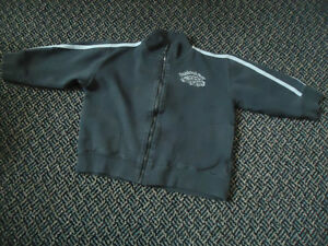 Boys Size 3X Classic Car Full Zip Jogger Sweater