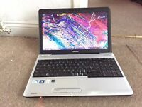 "Toshiba L540D 15.6"" 3GB Ram Windows 7 laptop"