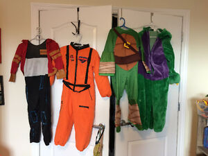 4 kids costumes for 6yr old