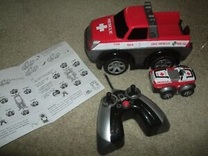 Wireless Remote Controlled 911 Rescue Truck & ATV (Ages 6+)