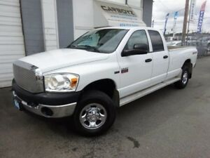 2009 Dodge Ram 2500 SXT 4x4, Quad Cab 8 Ft. Box, Extra Clean