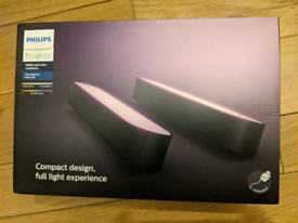 Philips Hue Play White and Colour Ambiance Smart Light Bar Double Pack