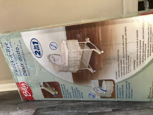 Rock-A-Bye bassinet &craddle in one