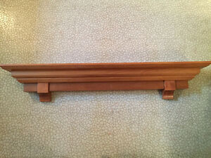 Fireplace Mantle piece shelf