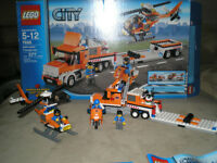 Lego City Town 7686 Helicopter Transport  transport helicoptere