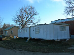 Mobile Home for sale with use of running gear (wheels)