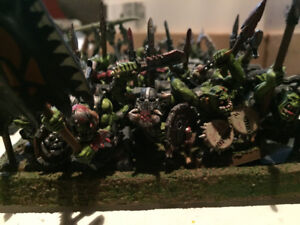 Lot of Warhammer AoS Models - Giant Greenskin Army!