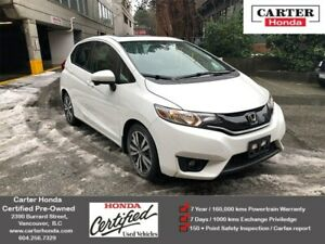 2015 Honda Fit EX + CERTIFIED + MANAGERS SPECIAL!