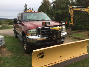 Ford F-350 4x4 with Fisher Plow