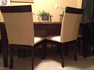 diningroom table with 6 chairs Kitchener / Waterloo Kitchener Area image 1