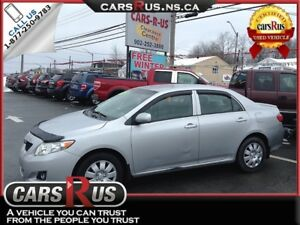 2009 Toyota Corolla CE...includes 4 FREE winter tires!!