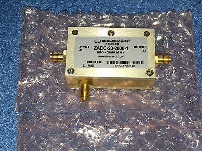 Used Mini-circuits Coupler Zadc-23-2000-1 Sma Type Sma Rf Direction Freeshipping