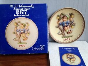 Hummel collector plate