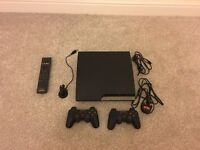 PS3 250gb with 2 controller pads and 20 Games