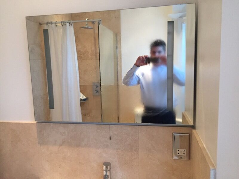 Entire bathroom