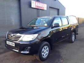 * SOLD * 2012 (62) Toyota Hilux 2.5 D4-D HL2 Double Cab 4x4 Diesel Pickup *49k*