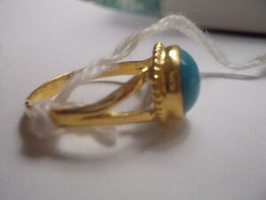 Gold Ring with Turquoise Windsor Region Ontario image 4