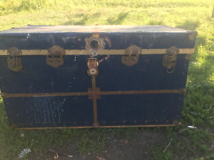 Travel Trunk or Steamer Trunk