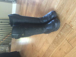 Mountain Horse tall winter riding boots, women's size 6