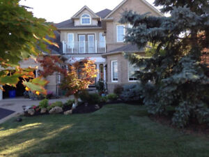 LANDSCAPING SERVICES YARD CLEAN UP GRADING SODDING MUCLH FENCES