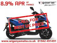 YAMAHA MW125 TRICITY 125cc 3 WHEEL SCOOTER LEARNER LEGAL. 2018 MODEL...