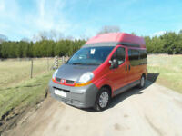 Renault Trafic Campervan - 4 Berth - High Top