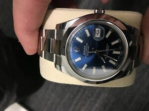 Brand New Rolex Datejust 2 blue stick dial REDUCED PRICE