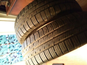 Two Goodyear Eagle LS2  P205/70R16 Tires for Sale