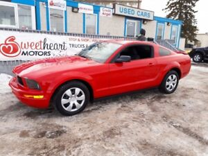 2007 Ford Mustang V6 Deluxe Coupe N  WE PAY YOUR GST