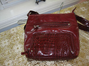 Deep Red Tuscan's Collection Purse