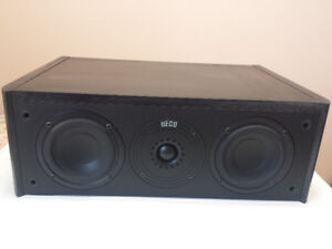 HECO Odeon Center 1 Center 2 Channel Speaker, Made in Europe