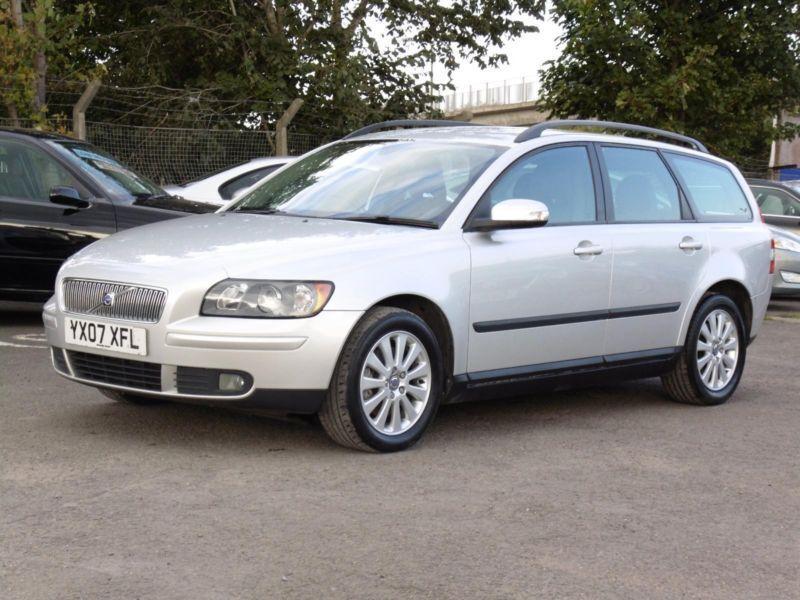 Volvo V50 2.0D S, Diesel, Estate, Silver, 2007, FSH, 6 Months AA Warranty