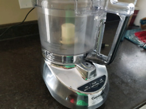EXCELLENT AND POWERFUL!!  CUISINART FOOD PROCESSOR 9 PREP CUP