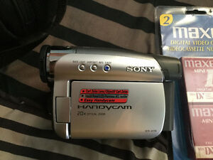 Sony Handycam, missing charger