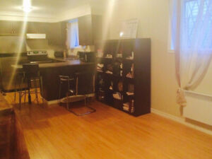2 1/2 Studio/Bachelor for rent 3min from Montreal