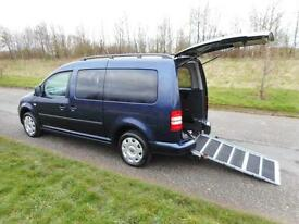 2012 Volkswagen Caddy Maxi Life 1.6 Tdi WHEELCHAIR DISABLED ACCESSIBLE CAR WAV