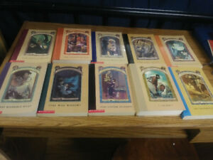 Series of Unfortunate Events books.  1.50 each.