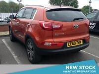 2010 KIA SPORTAGE 2.0 CRDi First Edition 5dr SUV 5 Seats