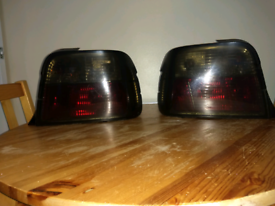 Bmw E36 compact rear lights