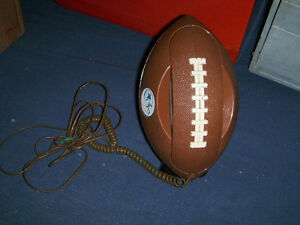 VINTAGE NFL FOOTBALL TELEPHONE-NEEDS REPAIR-COLLECTIBLE!