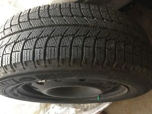 Michelin 205/60R16 X-Ice Xi3 with Rims