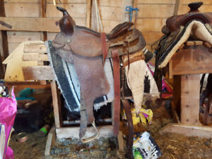 For sale: 2 western saddles