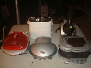 Various Counter Top Appliances