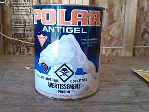 Collector Polar Antifreeze Can Never Opened One Gallon