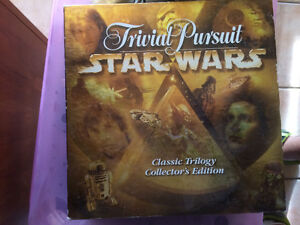 TRIVIAL PURSUIT STAR WARS CLASSIC EDITION